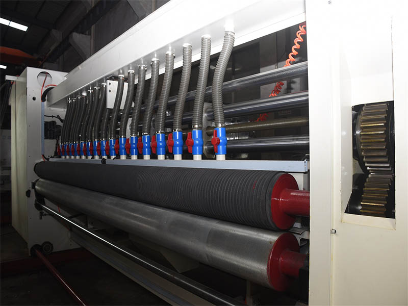 carton flexographic and printing machine