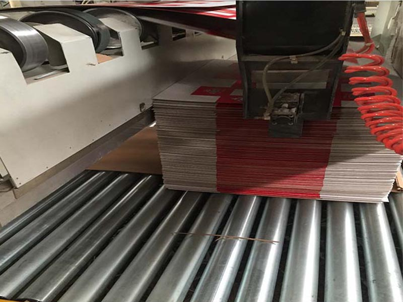 flexo printer 4 color corrugated