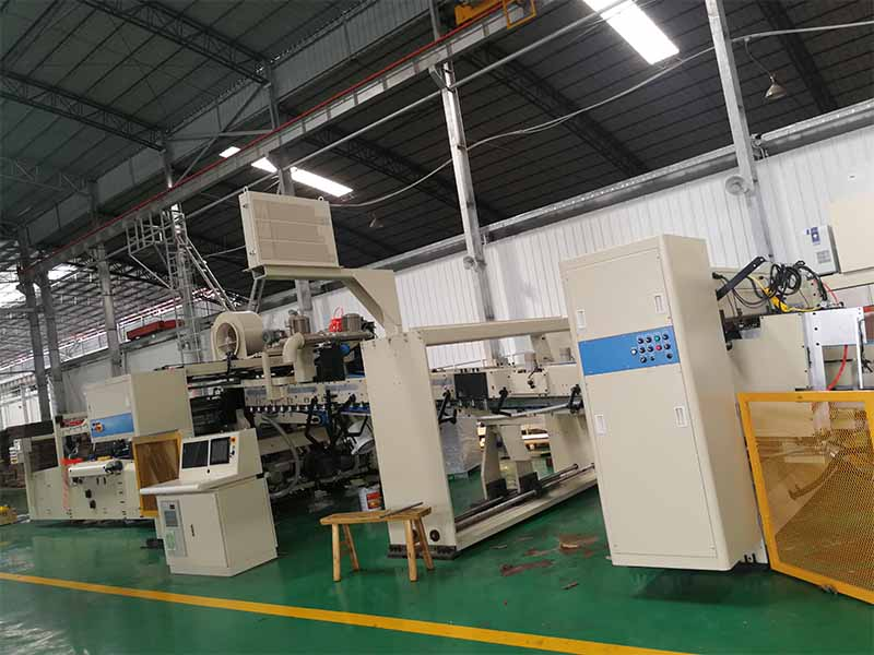 corrugated box folder gluer machine