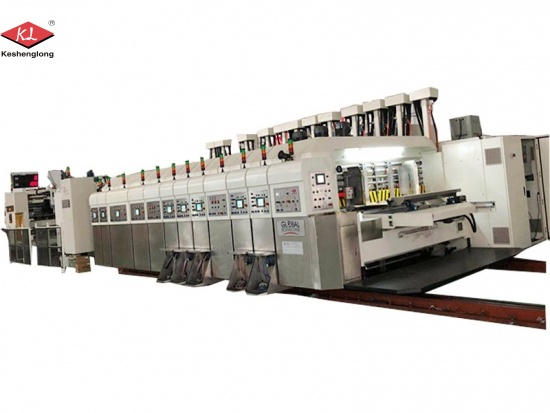 Printing Slotting Die Cutting Machine for Sale