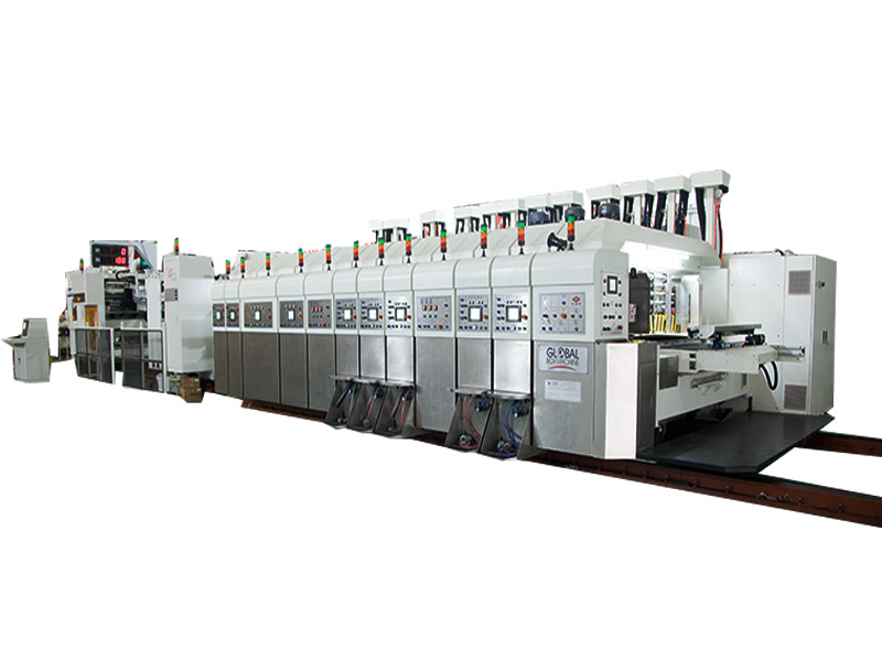 Carton Box Slotting Die Cutting Machine