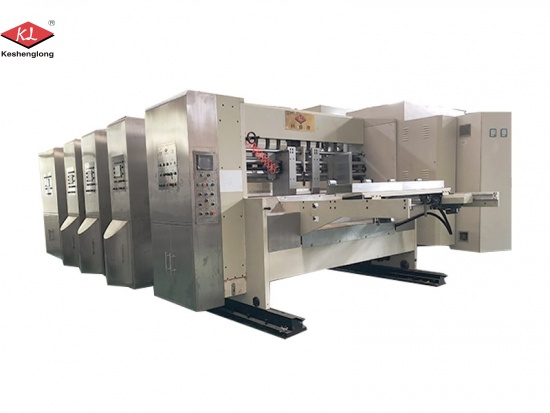 Carton Printer Slotter Die Cutter Machine